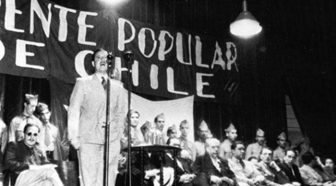 Surge el Frente Popular en Chile