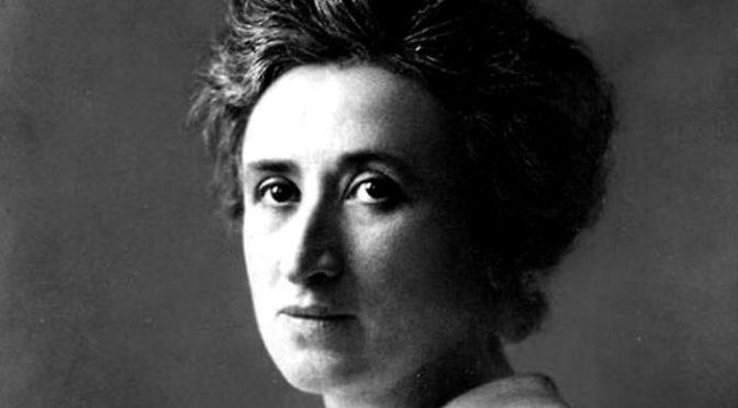 "Rosa Luxemburgo, la ""rosa roja"""
