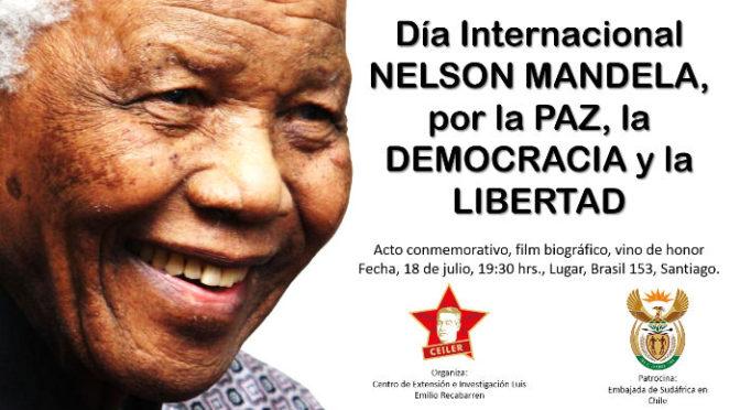 Centenario de Nelson Mandela, Discurso del Embajador de Sudáfrica